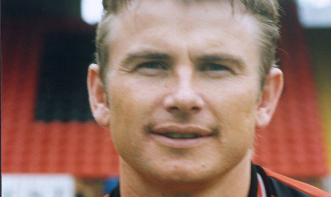 Erik Pedersen in his United days.