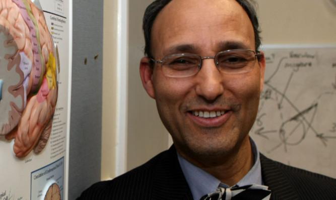 Professor Sam Eljamel.