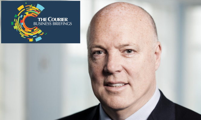 Jim McColl is the keynote speaker at the first Courier Business Briefing.