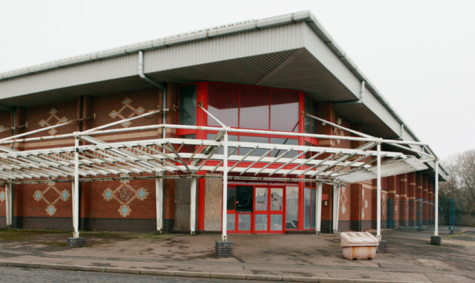 The proposed site for a retail outlet and gym was last in use as the Venue nightclub but has lain empty for more than 10 years.