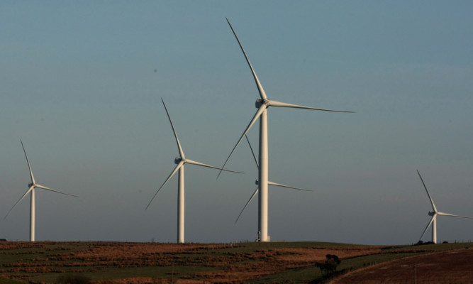 Heineken will use the windfarms near Laurencekirk to power its beer production.
