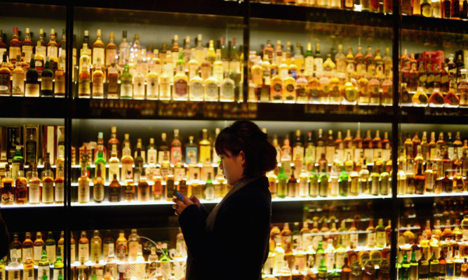 Alcohol duty on whisky is to be cut by 2%.