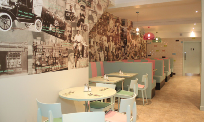 Jannettas Gelateria in South Street St Andrews has opened after a refurbishment.