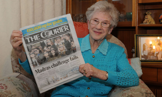 Violet Abbie's Saturday Courier turned out to be worth £500.