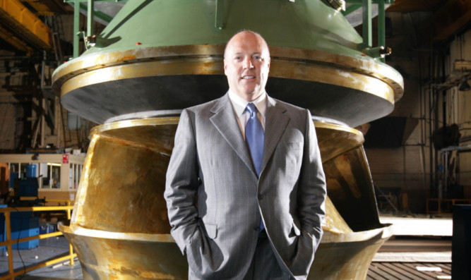 Entrepreneur Jim McColl is the keynote speaker at next months inaugural Courier Business Briefing.