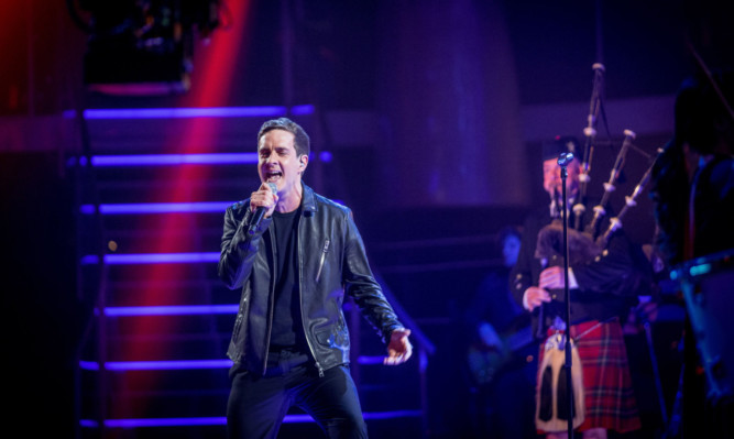 Stevie McCrorie singing his way into the final of The Voice.