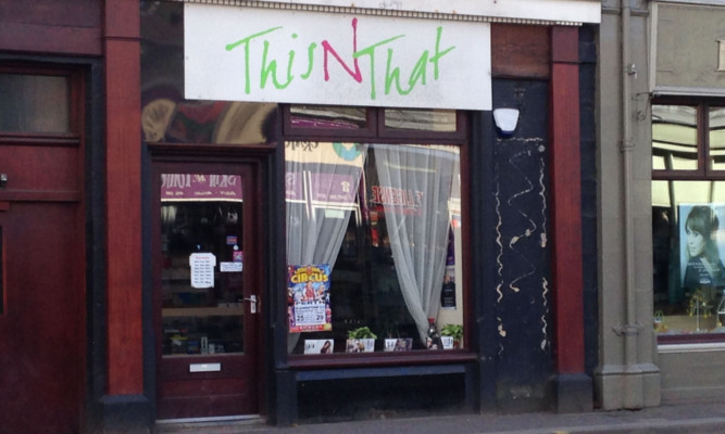 The This N That shop in Perth.
