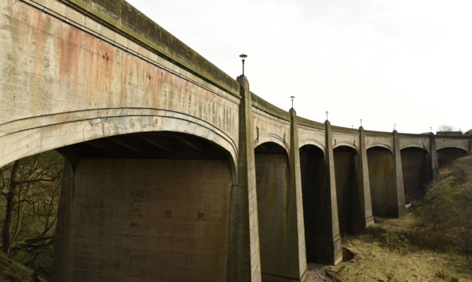 There are concerns about the condition of the seven-arched bridge built in 1935.
