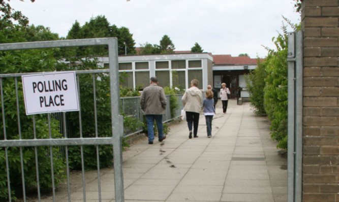 Fears have been expressed about pupil safety when schools remain open on election day.