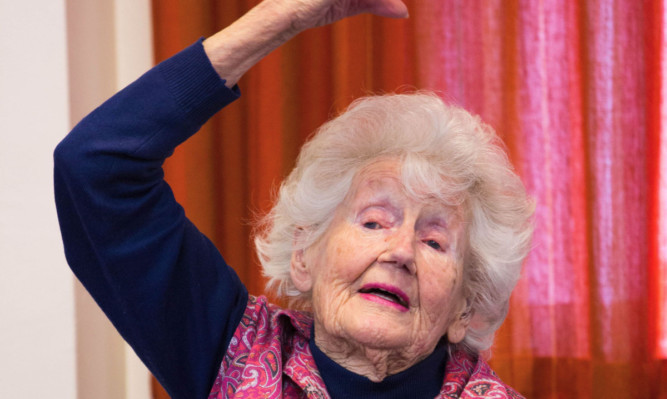 Yoga lover Connie Dennison is about to turn 100.