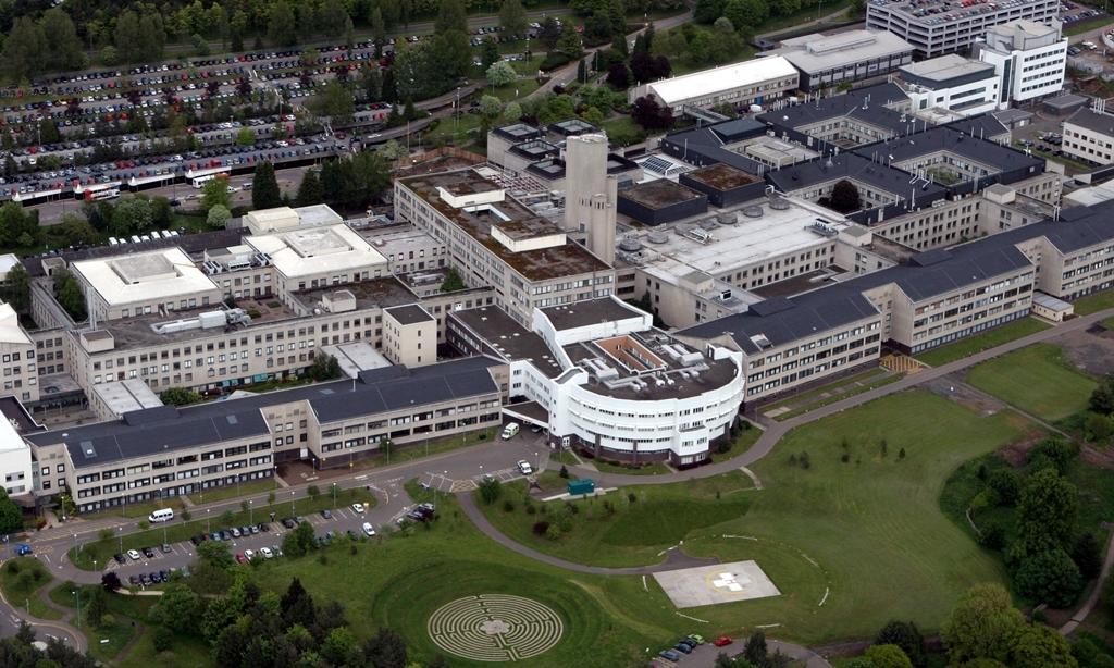 Gordon Robbie  Evening Telegraph  Ninewells Hospital Dundee