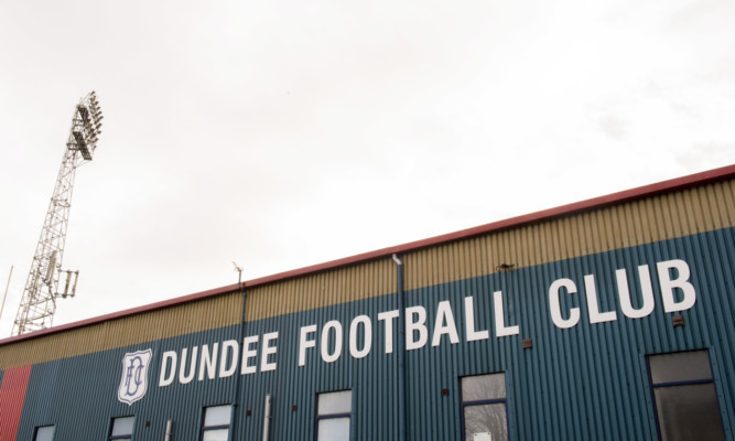Dundee have said that only season ticket holders will be permitted entry into the South Enclosure of Dens Park.