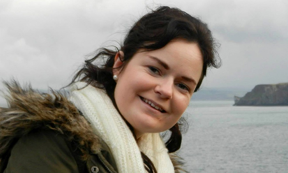 Collect taken from Facebook page of Karen Buckley, 24, from Cork Ireland, who Police in Glasgow are urgently appealing for information after she has been missing since the early hours of Sunday 12 April 2015. Karen is a student at Glasgow Caledonian University.  See CENTRE PRESS story.
