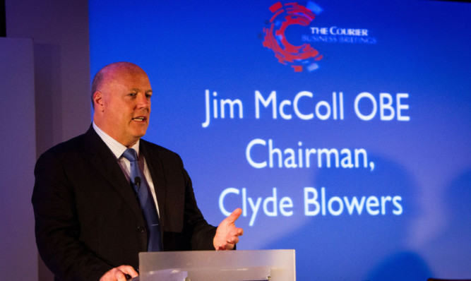 Entrepreneur Jim McColl decided to further his education in order to succeed in the business world.