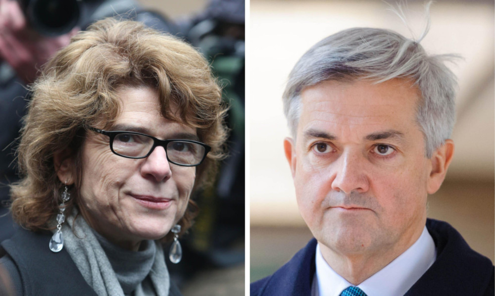 Vicky Pryce and former husband Chris Huhne are expected to be released from prison next month.