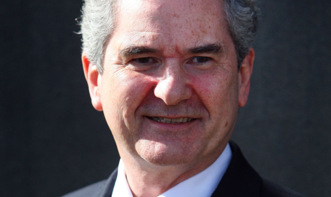 SNP candidate Roger Mullin (pictured) was ahead of Labour's Kenny Selbie in the Ashcroft poll.