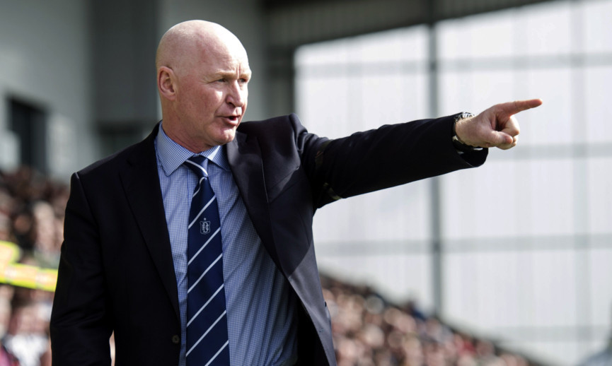 Dundee manager John Brown fears Hibs have already 'downed tools' ahead of their Scottish Cup Final.