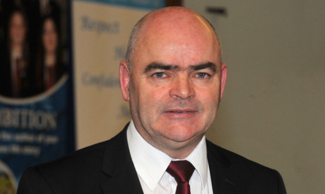 EIS general secretary Larry Flanagan.