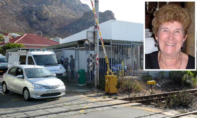 Sandra Malcolm (inset) died in her own home from multiple stab wounds.