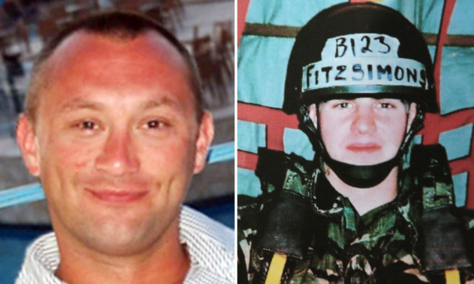 Paul McGuigan (left) was murdered by fellow security guard Danny Fitzsimons in Baghdad in August 2009