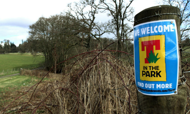 T in the Park's move to Strathallan has split opinion.