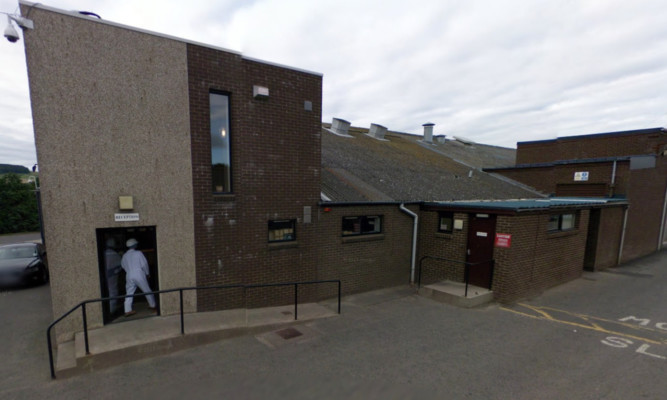 The plant in Letham, Forfar.