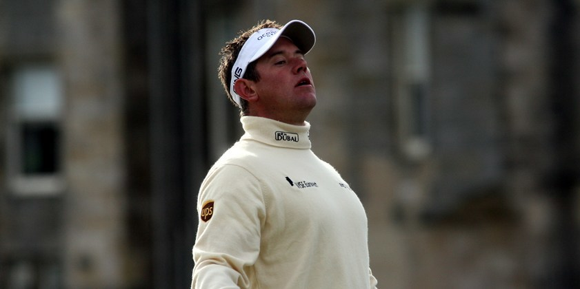 The Alfred Dunhill Cup, St Andrews.    Lee Westwood