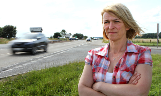 Jill Fotheringham has kept up pressure on Scottish ministers in her determination to have the junction upgraded.