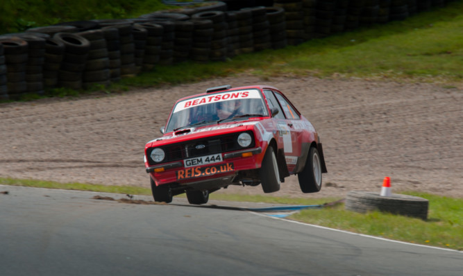 Gordon Shedden piloted a rear-wheel drive Ford Escort Mk II in the massively successful McRae Rally Challenge.