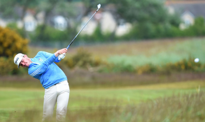 Connor Syme, among the golfers at this years Amateur Golf Championship at Carnoustie, which is making a significant contribution to golf tourism in Angus.