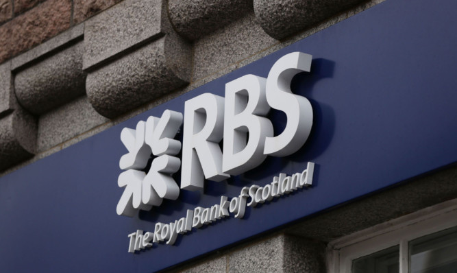 The RBS sign for a branch of The Royal Bank of Scotland in Fort William, Scotland. PRESS ASSOCIATION Photo. Picture date: Sunday September 28, 2014. Photo credit should read: Yui Mok/PA Wire