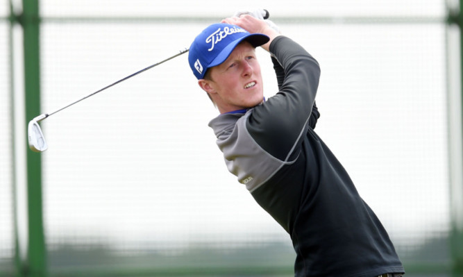 Craig Howie suffered the curse of the leading qualifier; losing in the first round of matchplay.