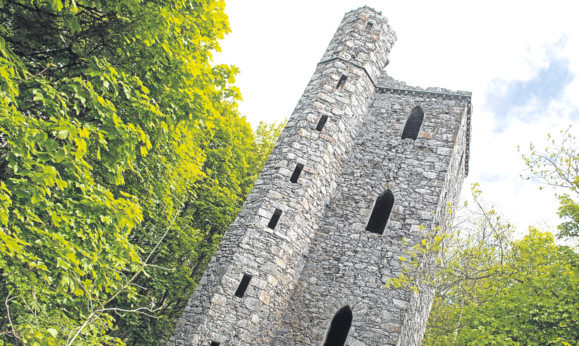 The 19th Century Binn Hill Tower has changed hands.