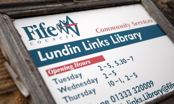 Lundin Links is one of 16 libraries in Fife earmarked for closure.