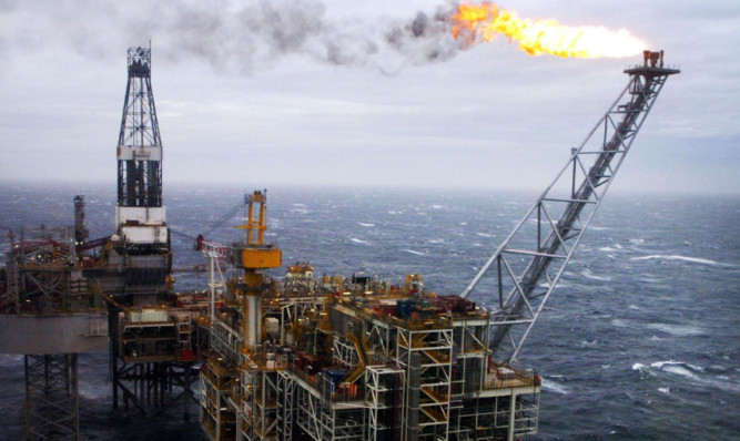 North Sea Oil revenues could plummet, according to the new report