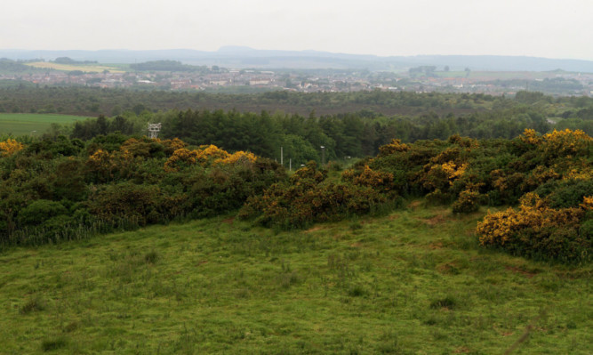 The peatland at Mossmorran at the centre of the failed plan.