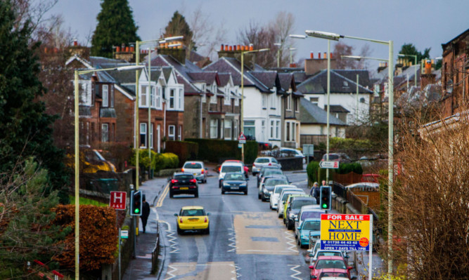 House prices in Perthshire have gone up ovwer the first part of the year.