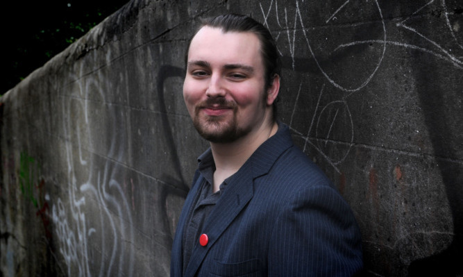 Filmmaker Stephen Grant hopes to crowdfund £10,000 to make his feature.