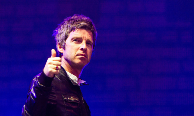 Noel Gallacher's High Flying Birds headlined the main stage on the last day of T in the Park.