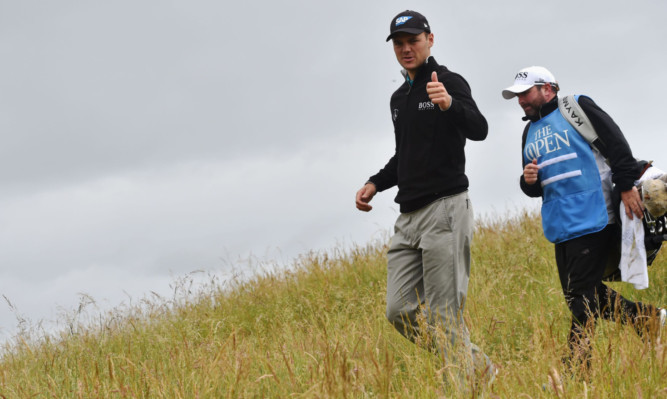 Martin Kaymer, with Scottish caddie Craig Connelly, likes his chances at St Andrews.