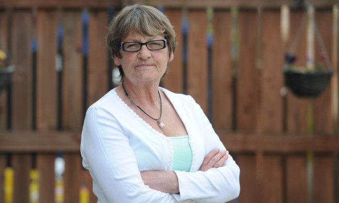 Linda Spiers said it was 'dreadful' meeting the man suspected of killing her daughter.