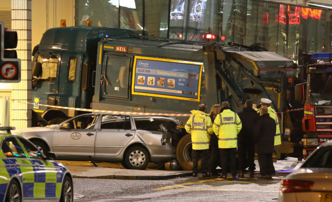 Six people were killed in the centre of Glasgow just before Christmas.