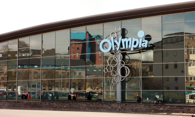 The Olympia Leisure Centre in Dundee.