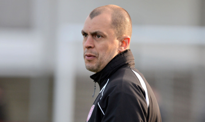 Todd Lumsden admitted Lichties players were hurting after defeat.