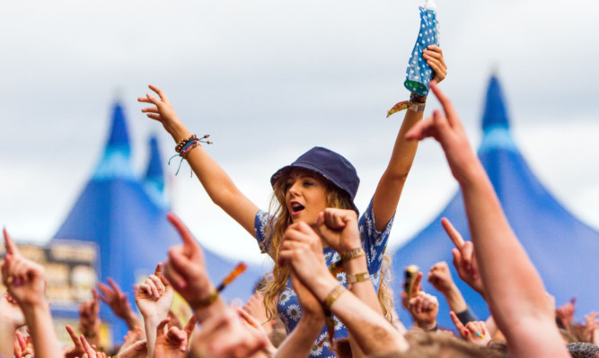 Fans at this year's T in the Park.