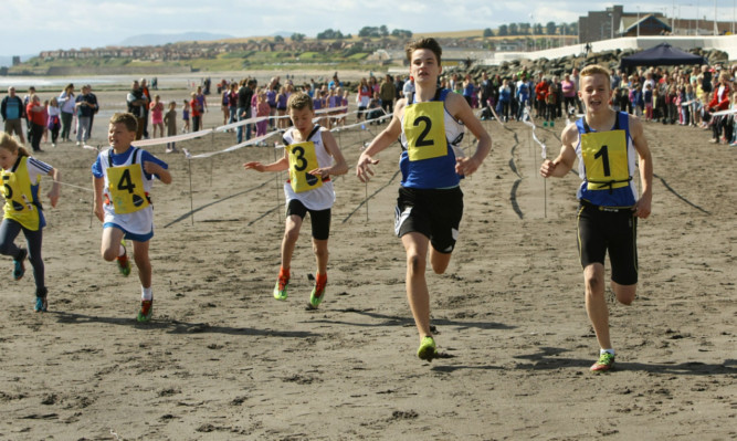 One of the beach races.