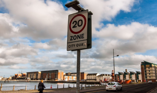 There are plans to designate large parts of the city as 20mph zones.