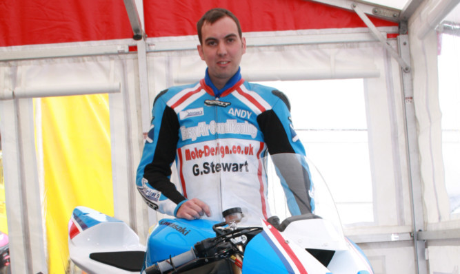 Andy Lawson was a popular figure in the road racing community.