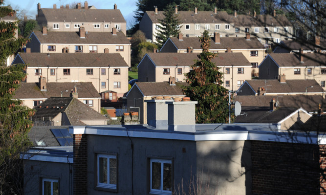 Areas with the highest level of arrears are Letham, Hillyland, North Muirton and Perth City.