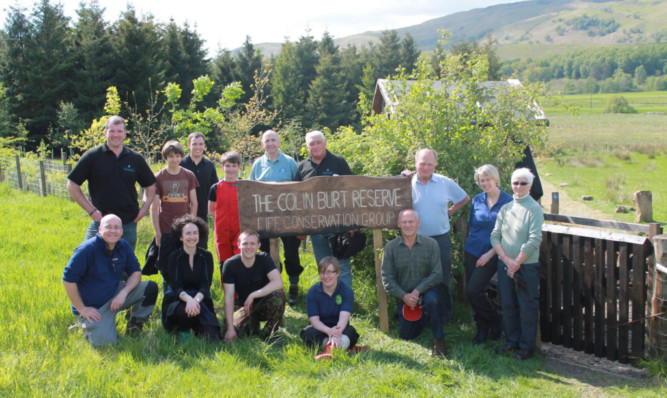 A group of volunteers will be on hand this Sunday to show visitors around the Colin Burt Reserve.